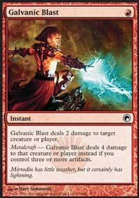 Galvanic Blast from Scars of Mirrodin at TCGplayer.com as low as $0.13
