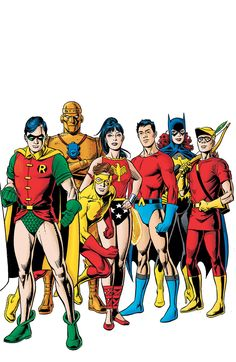 DC Universe Legacies #4 by José Luis García-López and Dave Gibbons