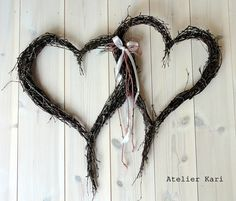 Wedding hearts from Atelier Kari