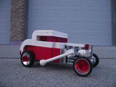 Santa's New Ride: '32 Ford Hi-Boy #flickr #LEGO #retro #car