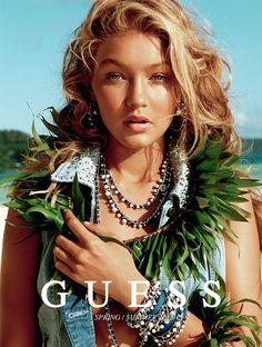 Island Life, GUESS, gigi hadid, beach boudoir, klk photography, outdoor boudoir, sun