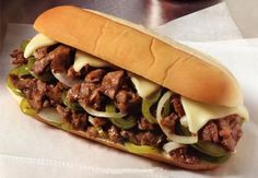 Life and Linda: Philly Cheese Steak...add mushrooms and we're set!