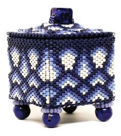 Beaded Boxes Free Pattern | julia s. pretl - boxes