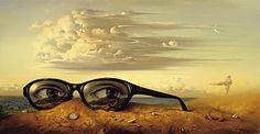 Forgotten Sunglasses  vladimir kush