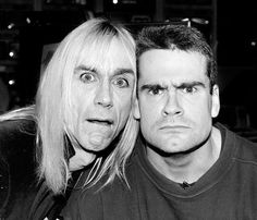 Iggy Pop and Henry Rollins