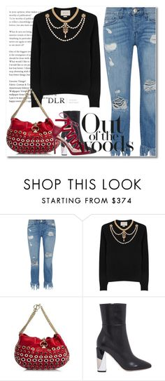 """DLRBOUTIQUE.COM"" by mirachu-1 ❤ liked on Polyvore featuring 3x1, Gucci, Sonia Rykiel, Jimmy Choo and dlrboutique"