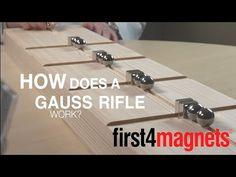 How to make a Gauss rifle | blog.first4magnets.com