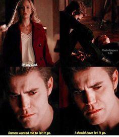 #TVD The Vampire Diaries  Caroline,Damon & Stefan..I'm pretty sure I've already pinned this before.
