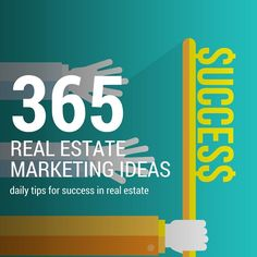 Are you looking for some tips to give you real estate marketing ideas? These 365 real estate marketing ideas will help you plan your lead gen activities!