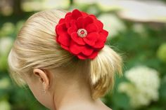 Bundle Pack: Two fabric flowers