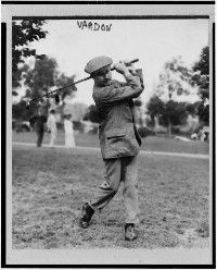 Harry Vardon holds the golf record for most British Open wins.