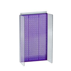 Azar Displays 700355PUR 135 W x 22 H Pegboard Powerwing Display with 45 W Side Wings in Translucent Purple ** Check this awesome product by going to the link at the image.