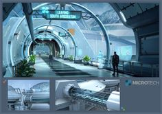 ArtStation - Star Citizen_MicroTech Bridgeway, Ken Fairclough