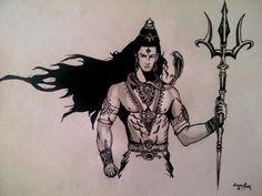Boom Shiva! by manofletters.deviantart.com on @DeviantArt