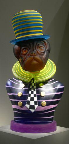"Stani Borowski: ""Hor Dog II - Masterwork"" - Blown and hot sculpted glass"