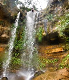 colombia . san gil . canyoning . rappelling . waterfalls . waterfall . adventure . travel . traveling . south america