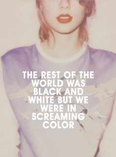 What's your favorite line from Out Of The Woods??? I haven't picked mine yet!