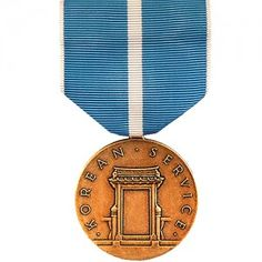 The Korean Service Medal (KSM) is a decoration presented by the United States Armed Forces to individuals who served in the Korean War between June 27, 1950 - July 27, 1954. There are 13 campaigns of the Korean War that are recognized by the United States Department of Defense and each campaign a member participated in is denoted by a service star on the medal.