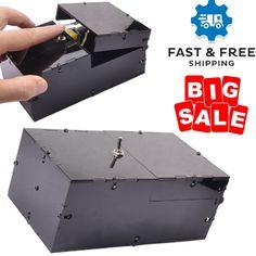 Turns Itself Off Useless Box Leave Me Alone Machine DIY Funny Geek Gadget Toy US #Ogrmar #Amazeeveryonewithhowtechnologycando