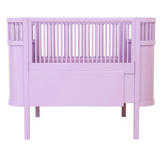 Baby London Magazine - pink products. Sebra pink cot bed