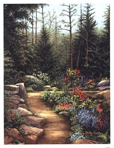 Rock Garden at FramedArt.com