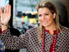 Queen Maxima of The Netherlands attends for the Social Powerhouse Symposium Serious Social Value on February 4, 2015 in Utrecht, The Netherlands.