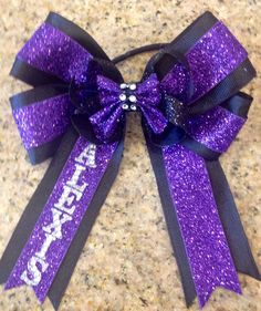 Boutique Bling Personalized Hair Bow MTM Team and School Colors on Etsy, $13.00