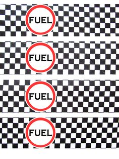 Fuel water bottle wrapper printable- Made this myself!