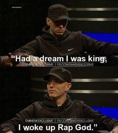 Yes you did eminem. Eminem Funny, Eminem Memes, Eminem Lyrics, Eminem Rap, Eminem Quotes, Best Rapper Ever, Eminem Slim Shady, Rap God, Funny Images