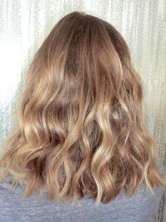 Golden walnut blonde