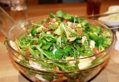 Mandarinos-balzsamecetes zöldsaláta Seaweed Salad, Green Beans, Salad Recipes, Ale, Cabbage, Salads, Vegetables, Ethnic Recipes, Food
