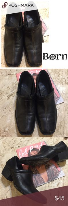 ⚜️Born Black Booties. Size 11 ⚜️Born Black Booties. Size 11. Worn once or twice. Size 11 women/ 43.   Style #W31239.  Excellent condition. Leather upper. Balance Ma made. Born Shoes Ankle Boots & Booties