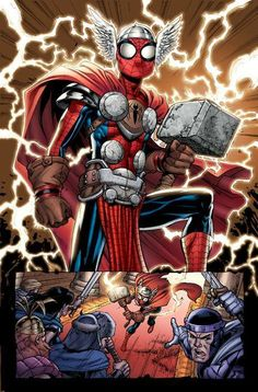 You let Spider-man get his hands on Mjolnir. You were dead before this fight started mates.