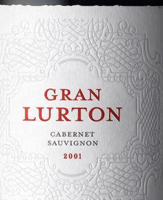 Gran Lurton wine, packaging design by Stranger & Stranger