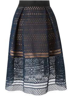 SELF-PORTRAIT 'Sofia' Skirt. #self-portrait #cloth #skirt