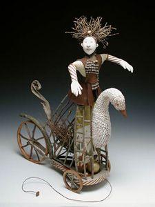 Twig Swan by Akira Blount