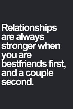 Absolutely. We started as friends and just realized we connected on every level- we knew it was meant to be so much more.