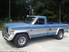 Jeep Trucks For Sale and Jeep Truck Parts - Rare Find 1982 Jeep P/U - truck - Jeep Pickup, Jeep Truck, Jeep Jeep, Jacked Up Trucks, Old Trucks, Truck Parts, Jeep Parts, Old Jeep, Jeep Wrangler Rubicon