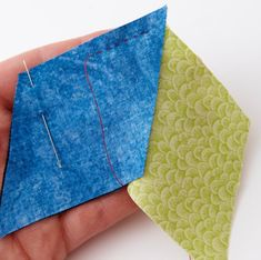 Perfect Your Skills: Hand Piecing | AllPeopleQuilt.com Staff Blog