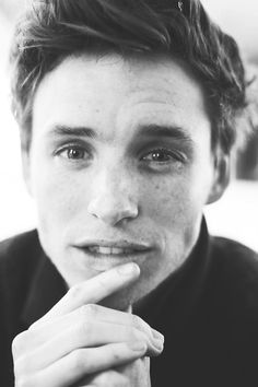 Eddie Redmayne.  I don't usually think he is attractive but this is a nice pic!