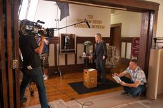 Behind the Scenes: William Henry Harrison Photos from Parks and Recreation on NBC.com