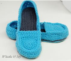Slippers Crochet - Tutorial ❥ 4U // hf