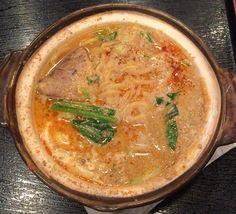 土鍋担々麺/浅井屋