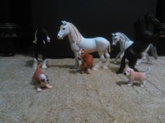 And on this picture are my little Schleich family.