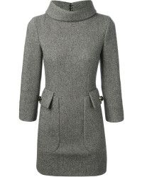 DSquared2 Funnel Neck Dress - Lyst