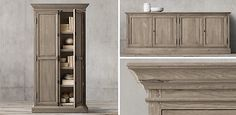 French Panel Collection - Aged Oak | RH