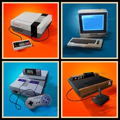 Signalnoise Console Series by James White