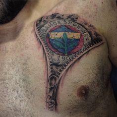 Fenerbahçe  Fenerbahce  Football  Fans  Tattoo