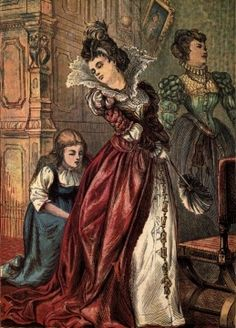 Cinderella, public domain The 'good martyr'