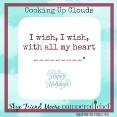 ...to have someone else clean up the post Christmas chaos!  What do you wish for? #cookingupclouds